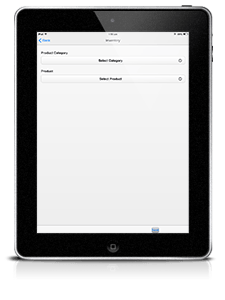 enterprise mobile app iPad