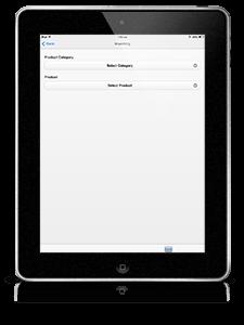 enterprise mobile app iPad